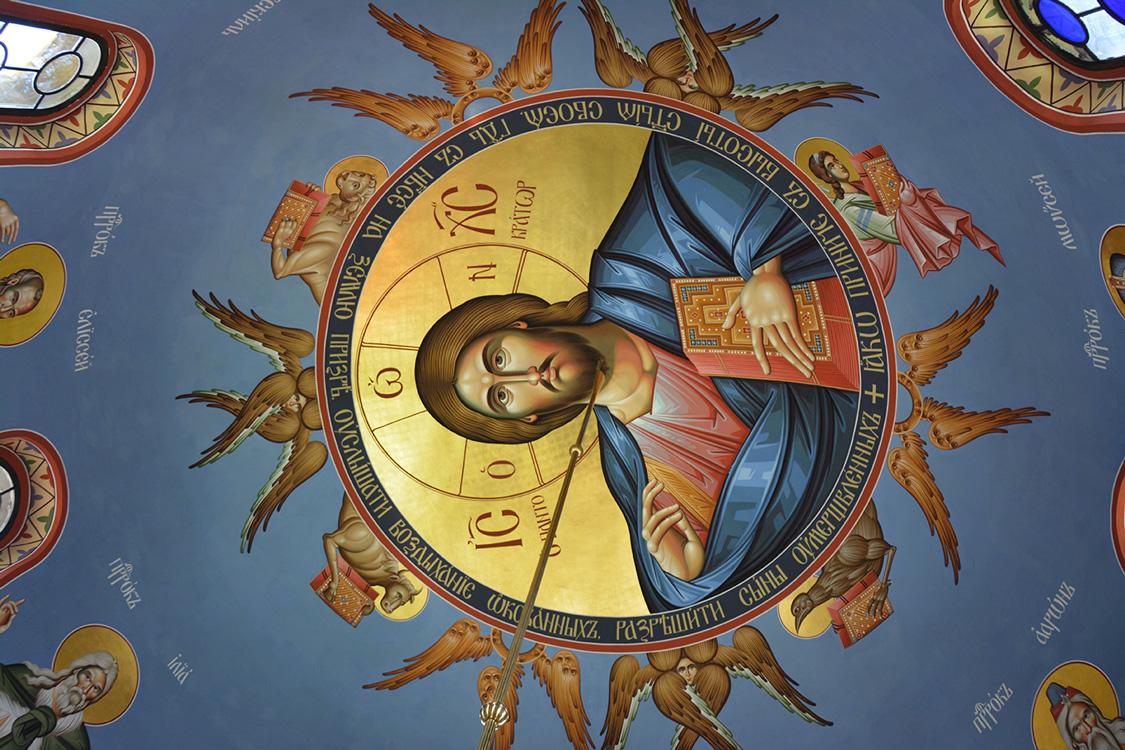 Нова фреска Господа Исуса Христа