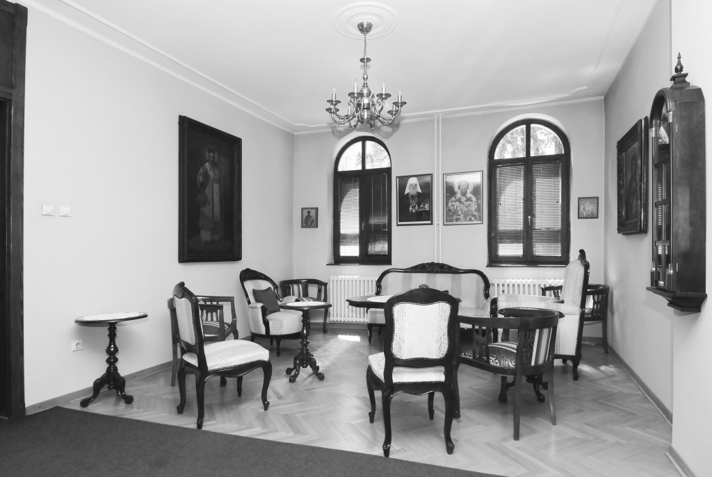 Дводелни свечани салон у новом парохијском дому