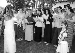 Концерт хора Св. Александар Невски у манастиру Каони, 2005. године