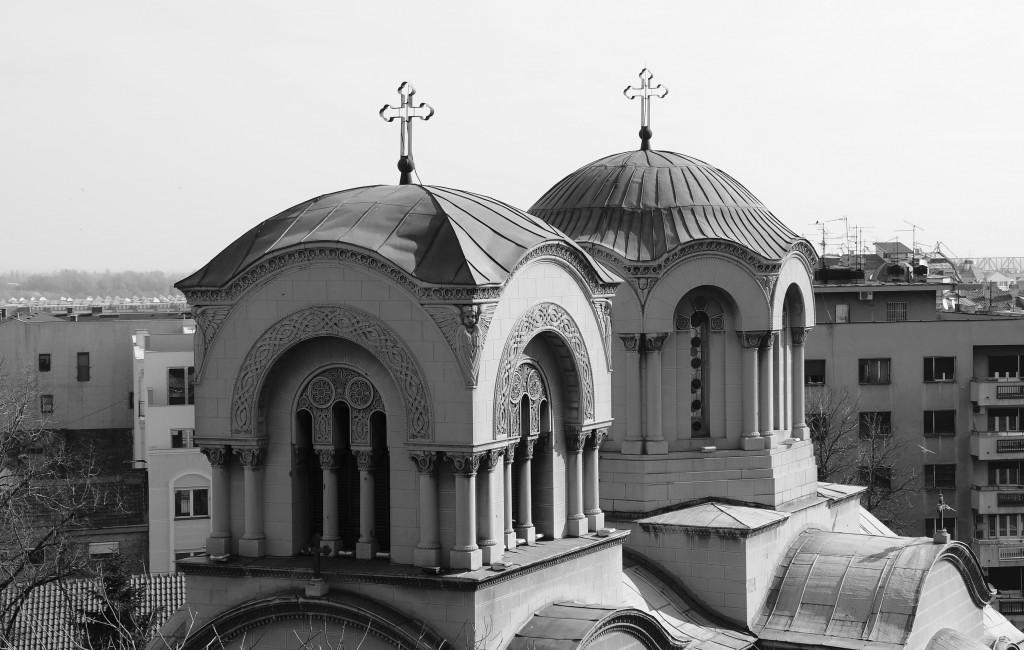 Куполе цркве Св. Александра Невског (поглед са југо-запада)