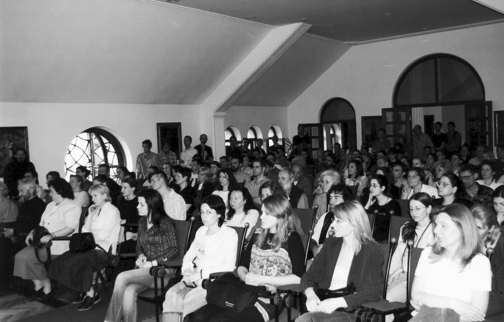 Мисионарско предавање у сали за предавања у парохијском дому цркве Св. Александра Невског
