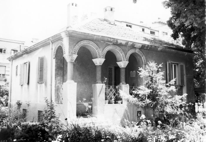 Парохијски дом цркве Св. Александра Невског, саграђен 1964-1965. године (арх. Драгомир Тадић)