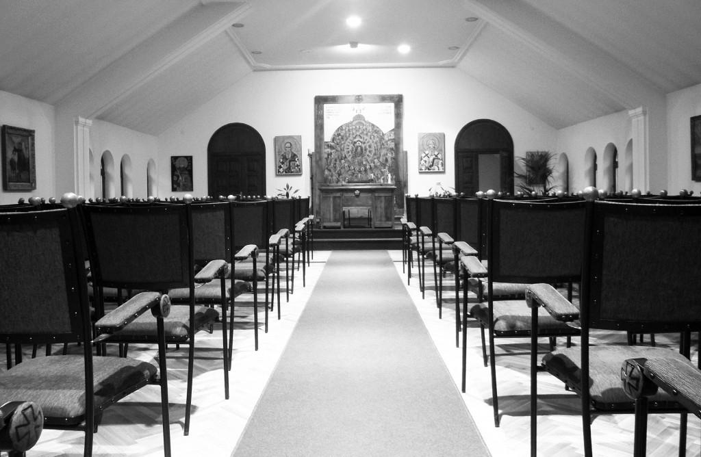 Сала за предавања у парохијском дому цркве Св. Александра Невског
