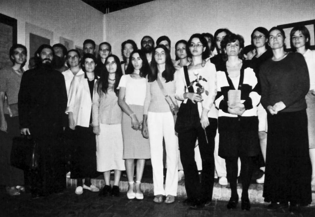 Школа калиграфије – 6. септембра 2002. године, у Манаковој кући, у Београду