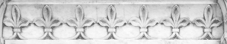 Вајани мотиви (детаљи) са мермерног иконостаса у цркви Св. Александра Невског